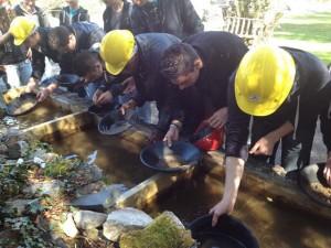 Glengowla mines gold panning